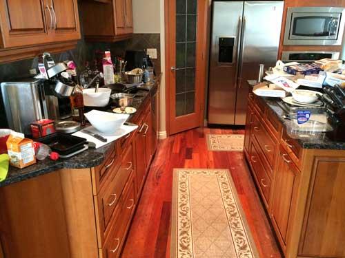 House Cleaning Calgary Hockey Maids - Before